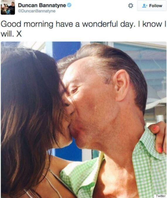 Duncan Bannatyne And Girlfriend Nigora Whitehorn Celebrate 'Bannatyne's Day' With Intimate Bedroom Selfies....