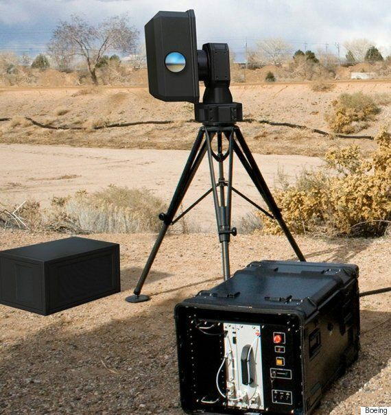 Boeing Unveils Compact Drone-Killing Laser That Can Be Assembled In