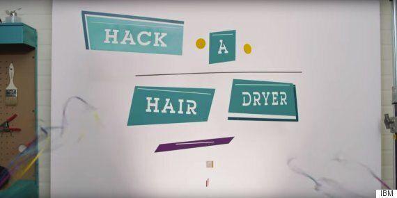 IBM's #HackAHairDryer Women In STEM Campaign Suffers Massive Backlash On