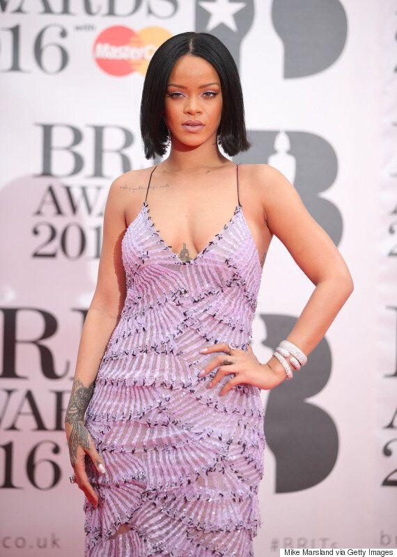 Brit Awards 2016: Rihanna Seriously Slays In Dazzling Lilac
