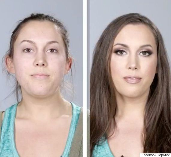 Women With Acne Undergo Makeup Transformations By Arax
