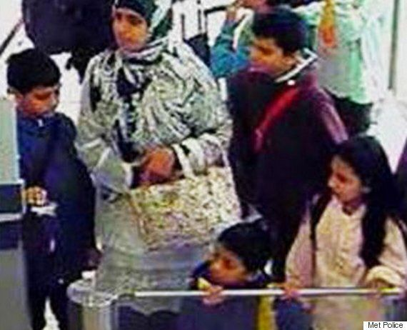 Missing Mother And Four Children Pictured At London Airport As Police Fear They're Headed For