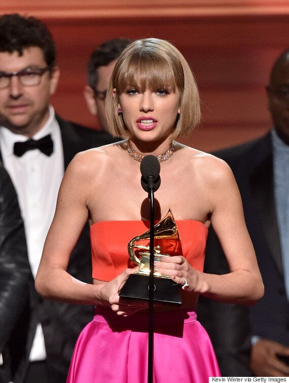 Grammy Awards 2016: Taylor Swift Responds To Kanye West Diss During Acceptance