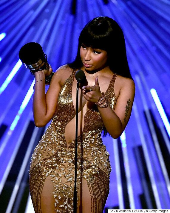 MTV VMAs 2015: Miley Cyrus Dons Series Of Revealing Outfits, As She Makes Drug References And Continues...