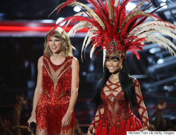 MTV VMAs 2015: Nicki Minaj Attacks Miley Cyrus During Acceptance Speech, As Pair's Feud