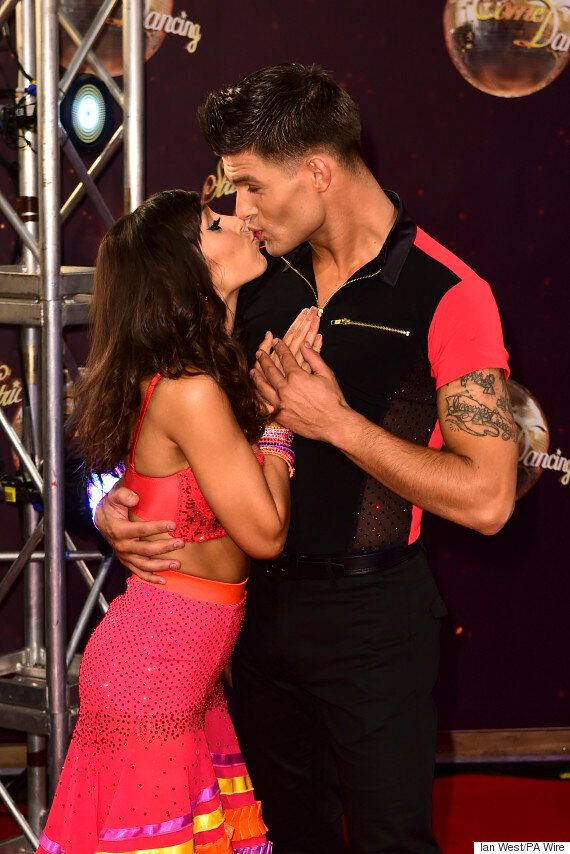 'Strictly Come Dancing' Couple Janette Manrara And Aljaž Škorjanec Talk Engagement And