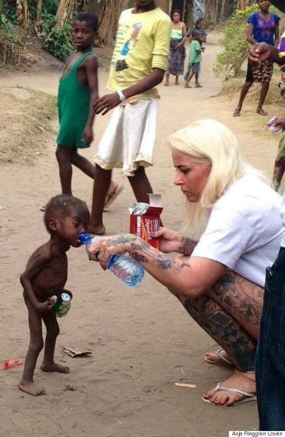 Anja Ringgren Lovén Reveals The Full Story Behind Heartbreaking Starving Child 'Witch' Photo In