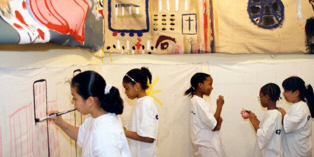 Developing Happy and Healthy Children Through Arts and