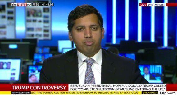 Donald Trump Former Advisor, Roger Stone, Says Sky's Political Editor Faisal Islam Is 'Civilised' Enough...