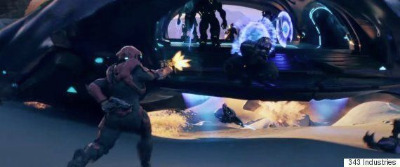 The Halo 5: Guardians Official Opening Cinematic Is An Avengers' Style