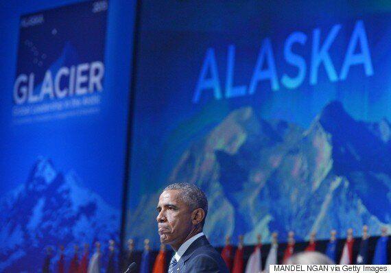 Barack Obama's First Alaska Speech Calls Out Climate Change 'Deniers' As Kivalina Island Faces