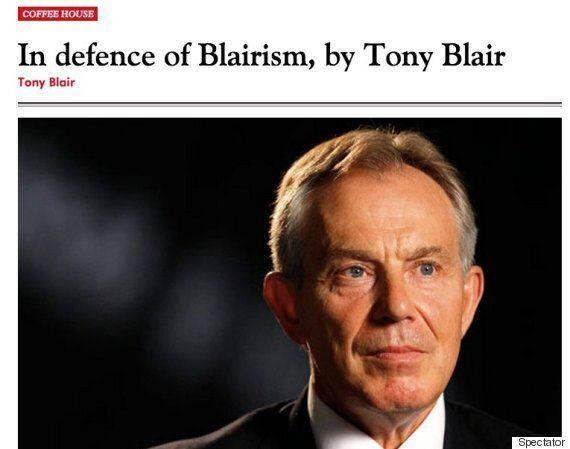 Tony Blair Says Jeremy Corbyn A 'Tragedy' For