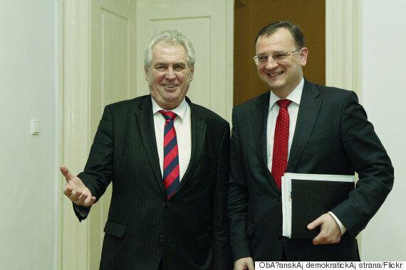 Czech President Miloš Zeman Says Refugees Are Like A 'Tsunami That Will Kill