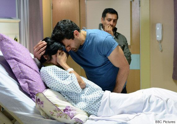 'EastEnders' Fans Praise Shabnam And Kush's Emotional Stillbirth