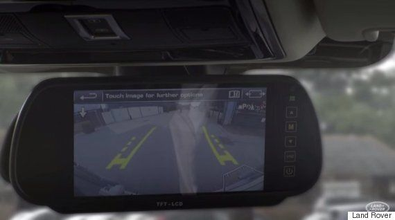 Land Rover Unveils 'Transparent Trailer' Camera Technology To Help Drivers With Blind
