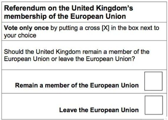 UK's EU Referendum Question Should Be 'Remain Or Leave' Not 'Yes Or No' - Watchdog