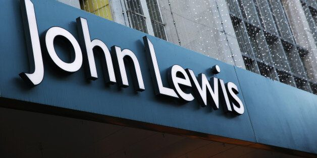 LONDON, UNITED KINGDOM - JANUARY 02: The sign for the flagship branch of the John Lewis department store...