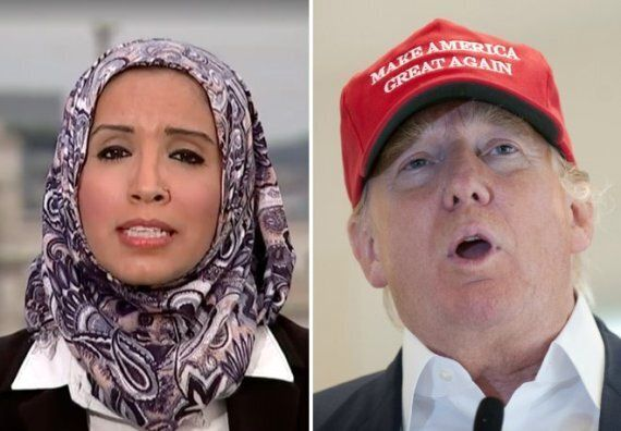 Zainab Chaudry Asks Donald Trump Whether He Would Also Ban White 'Christian