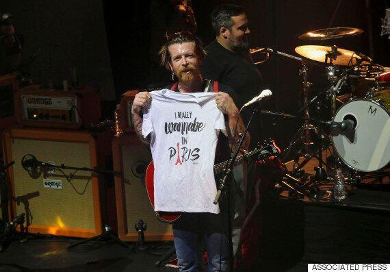 Eagles Of Death Metal Make Emotional Return To Paris, To Complete Gig Devastated By Paris Terrorist