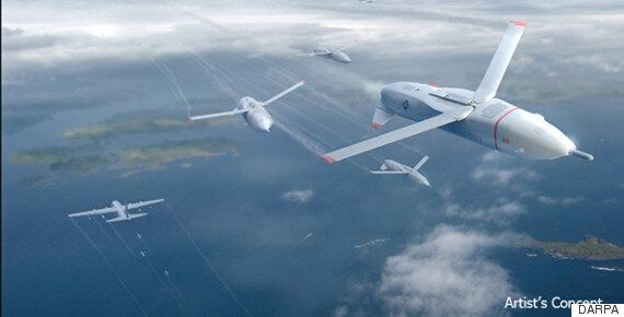 Full-Scale Military Drone Operation Confirmed By US DARPA Gremlin