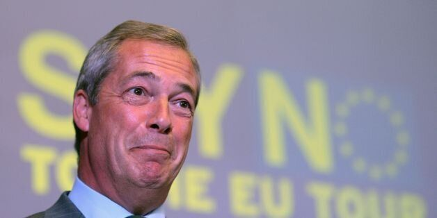 Ukip leader Nigel Farage, who is heavily involved with the GO