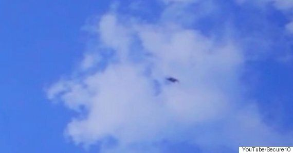 UFO Hunters Capture Mysterious 'Shape-Shifting' Object Over