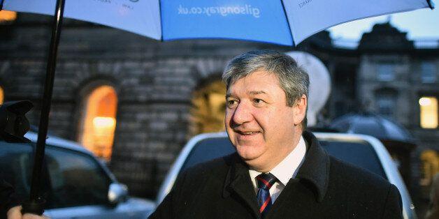 EDINBURGH, SCOTLAND - NOVEMBER 09: Alistair Carmichael leaves Edinburgh Court of Session where he is...