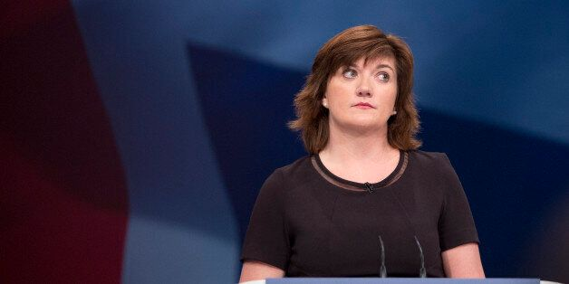 Secretary of State for Education and Minister for Women and Equalities Nicky Morgan delivers her speech...
