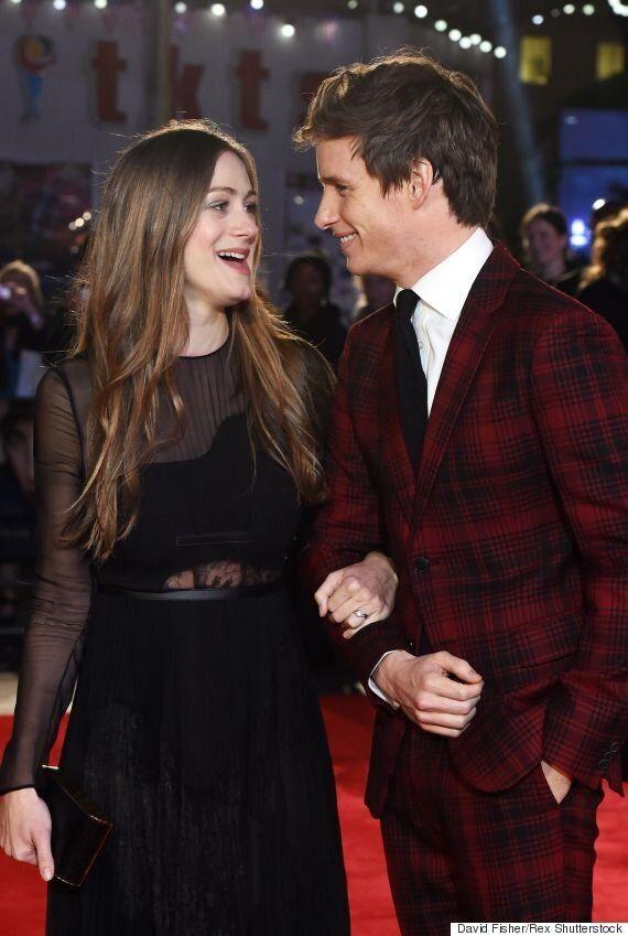 Eddie Redmayne Attends 'The Danish Girl' Premiere In Eye-Catching Tartan Suit