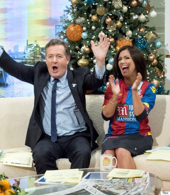 Piers Morgan FINALLY Gets His Long-Awaited Kiss From Susanna Reid On 'Good Morning Britain'