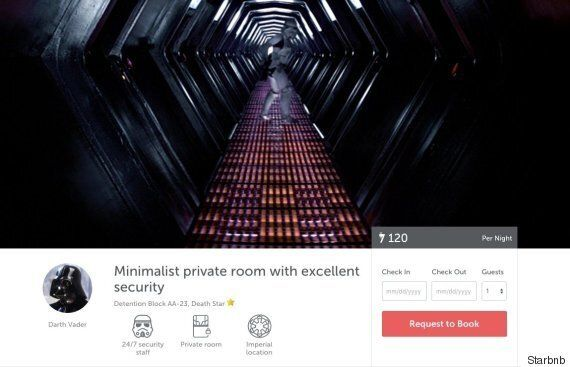 Starbnb Is The Ultimate Holiday Website For Star Wars