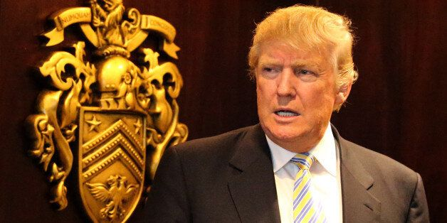 File photo dated 8/6/2015 of US presidential hopeful Donald Trump who has attracted widespread derision...