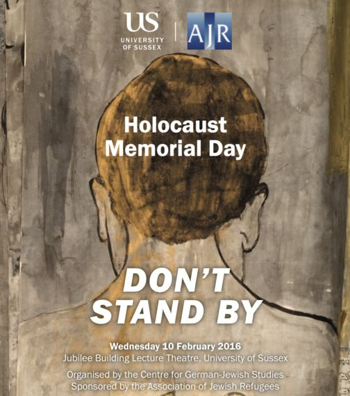 We Must Not Stand By: Remembering the Holocaust in