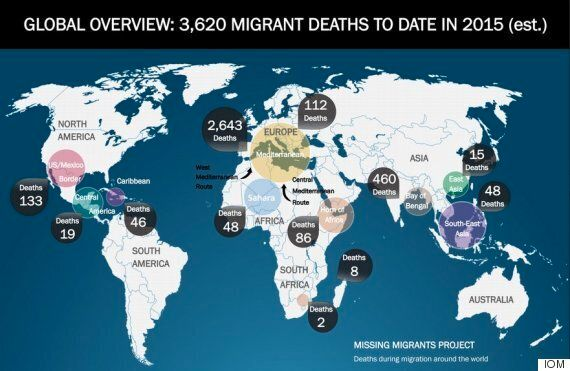 Migrant Deaths In The Mediterranean Account For Three-Quarters Of The World Total This