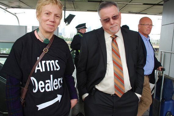 Disarming DSEI: Arms Dealers And Despots Descend on