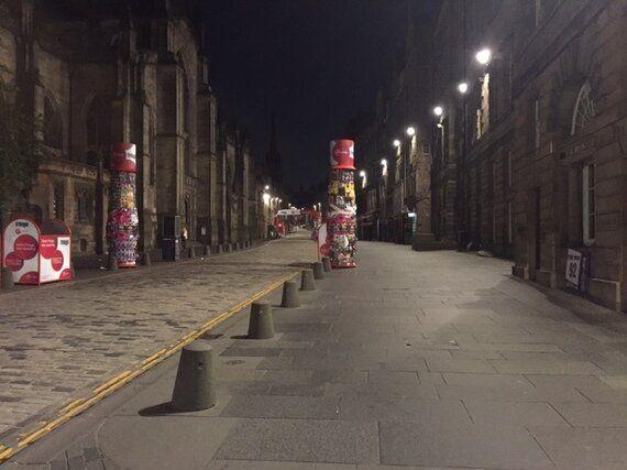 Five Symptoms of Edinburgh Festival Participant Leftover Bodily Function