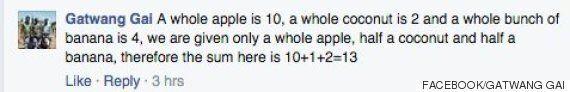 Simple Algebra Fruit Puzzle Divides Facebook