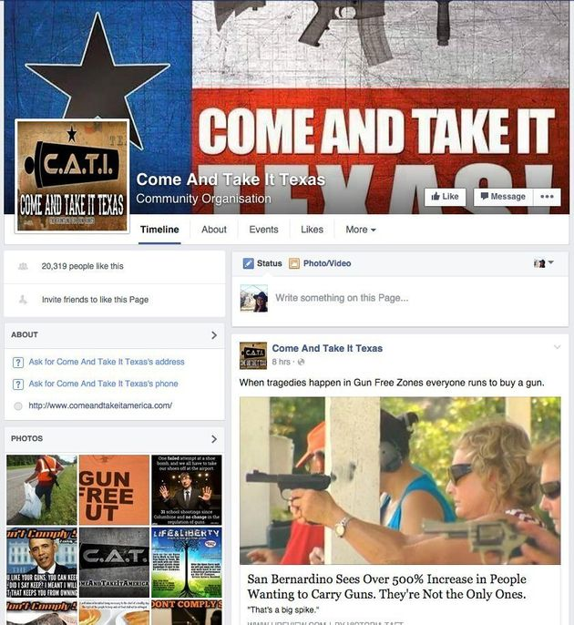 Pro-Gun Group Is Going To Stage A Pretend Mass Shooting At Texas University, To Show Not Carrying Guns...
