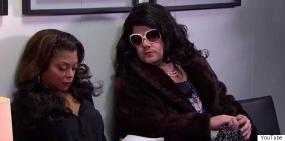 James Corden's Impression Of Cookie Lyon From 'Empire' Is