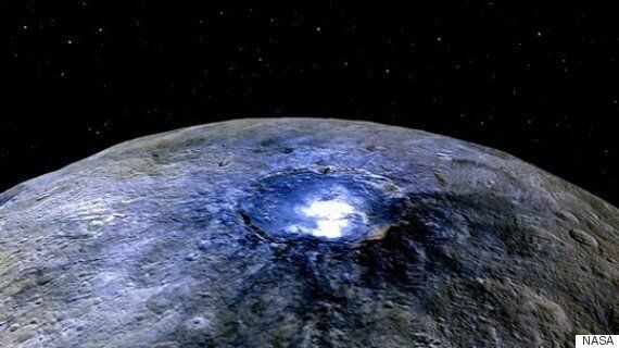 Mystery 'Alien' Spots On Ceres Could Be Caused By Salt New Study