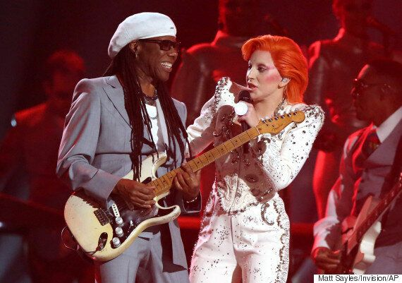 Nile Rodgers Defends Lady Gaga's David Bowie Tribute After Criticism Of Grammys