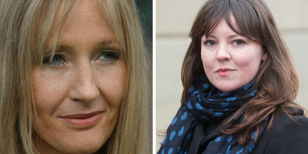 JK Rowling and Glasgow East MP Natalie