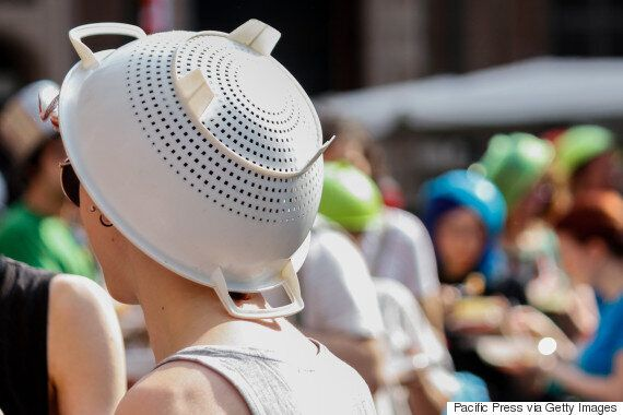 Pastafarian Wins Right To Wear Colander In His Official Driver's License
