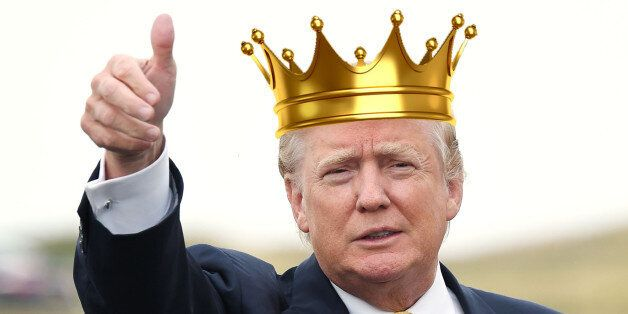 Donald Trump Petition Lobbies UK Government To Make US Presidential Candidate King Of
