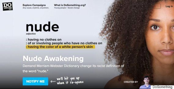 Teen Luis Torres Made A Dictionary Change Its Definition Of 'Nude' Being The Colour Of A White Person's