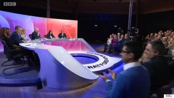 BBC Question Time Sees Audience Stunned By Awkward German War