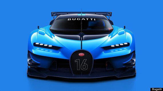 Bugatti Unveils The Vision Gran