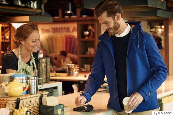 Barclaycard And Lyle & Scott Unveil Jacket With Contactless
