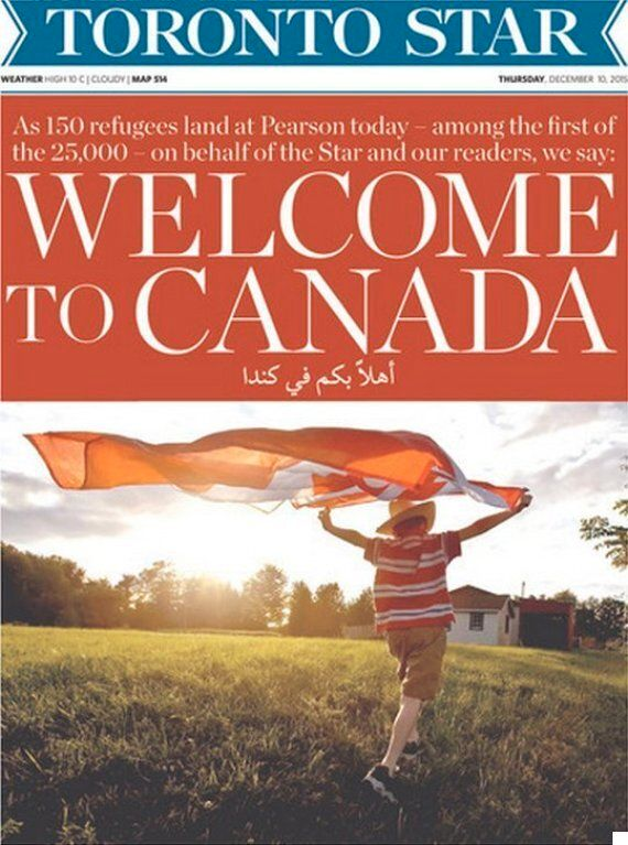 Syrian Refugee Crisis: Justin Trudeau And Toronto Star Give Incredible Lesson On How To Welcome