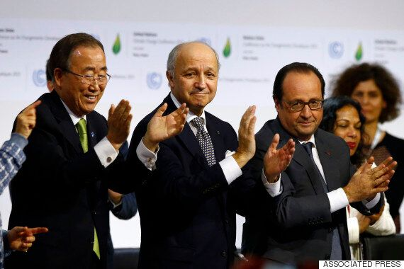 COP21: Global Climate Agreement Reached At United Nations Talks In